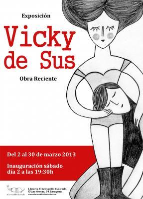 Nueva exposición de Vicky de Sus