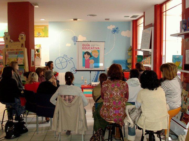 Taller para padres y niños en Zaragoza