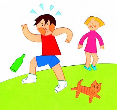 ¿Cuándo es normal la agresividad en los niños?